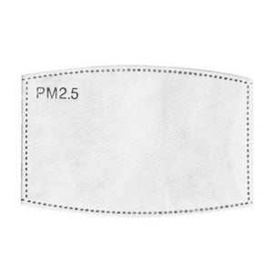 PM 2.5 Filter Inserts (Adult) - Face Mask