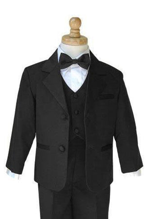 Prodigy Kids Black Tuxedo Package - XL-18 Months / Black -
