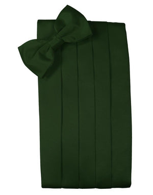 Set Luxury Satin Cummerbund & Bow Tie - Holly - Faja