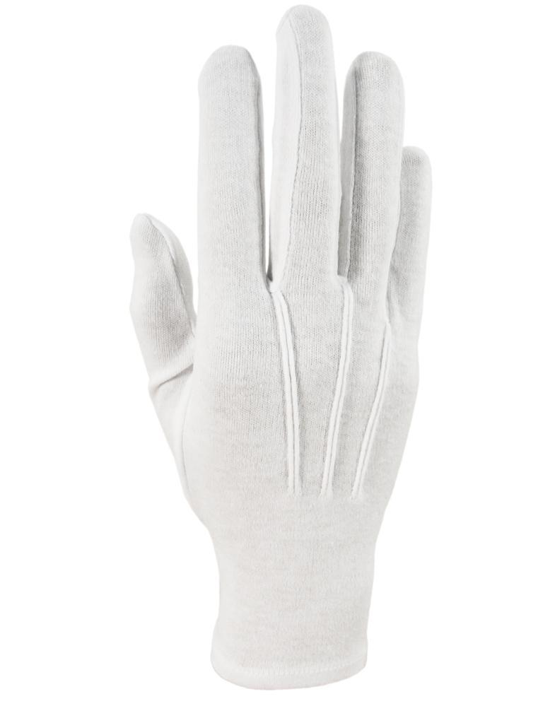 White Nylon Gloves - White / One Size - Guantes caballero