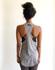 Heather Grey - Racerback Tank