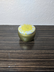 "Scented soy candle, ""Ginger Citron"""