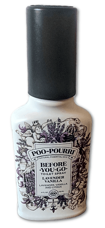 Poo-pourri Before-You-Go toilet spray,