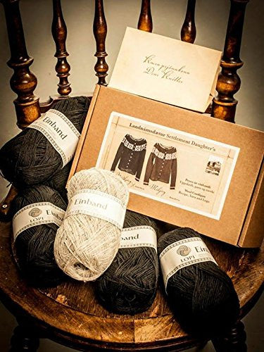 "Móakot - ""Settlement Daughters & Sons"" Knitting Kit - ISLANDICA.com"