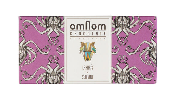 Omnom Chocolate - Lakkrís + Sea Salt - ISLANDICA.com
