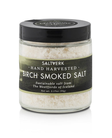 Saltverk - Birch Smoked Salt 90 g - ISLANDICA.com