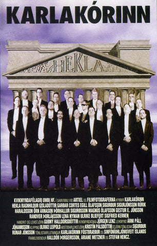 The Men's Choir (Karlakórinn Hekla) (DVD) - ISLANDICA.com