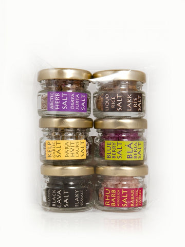 Urta - Six Salts Giftbox 6x30gr - ISLANDICA.com