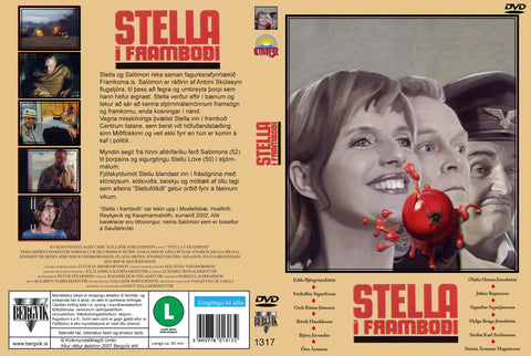 Stella for office (Stella í framboði) DVD - ISLANDICA.com