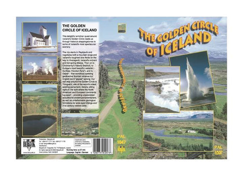 The Golden Circle of Iceland (DVD) - ISLANDICA.com