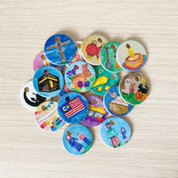 Exclusive Malaysia Holidays Picture Coins for Home Calendar