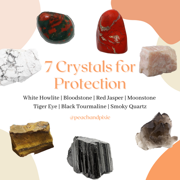7 Crystals for Protection Bundle