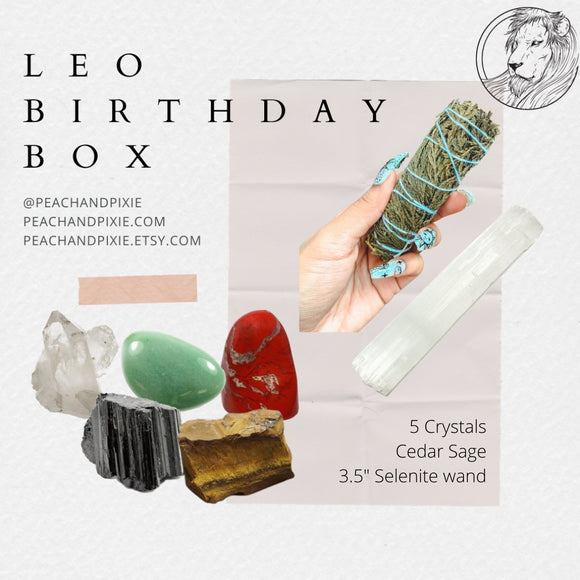 Leo Birthday Box ♌️