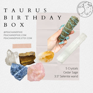 Taurus Birthday Box ♉️