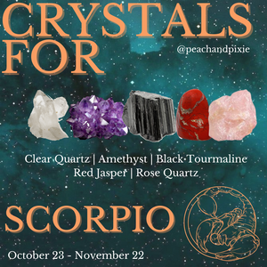 Scorpio Crystal Bundle ♏️