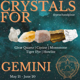 Gemini Crystal Bundle ♊️