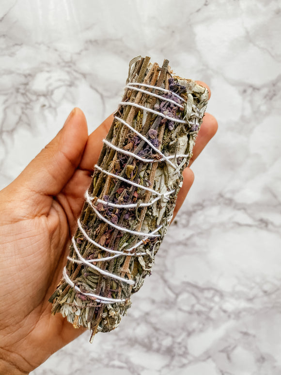 Lavender, Blue Sage, and Yerba Santa Cleansing Stick