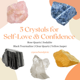 Crystals for Self-Love & Confidence Bundle