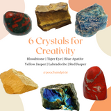 6 Crystals for Creativity Bundle