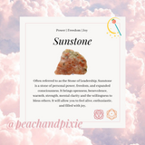 Rough Sunstone