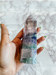 Fluorite Polished Tower