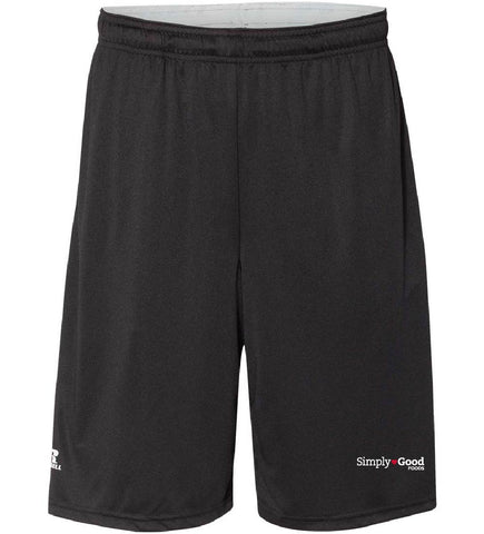"Russell Athletic -Men's Dri-Power® Essential 10"" Shorts with Pockets"