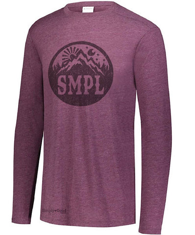 Men's Tri-Blend Long Sleeve Tee