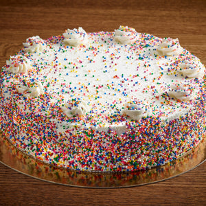 "Birthday Cake Cheesecake | 10"" whole"