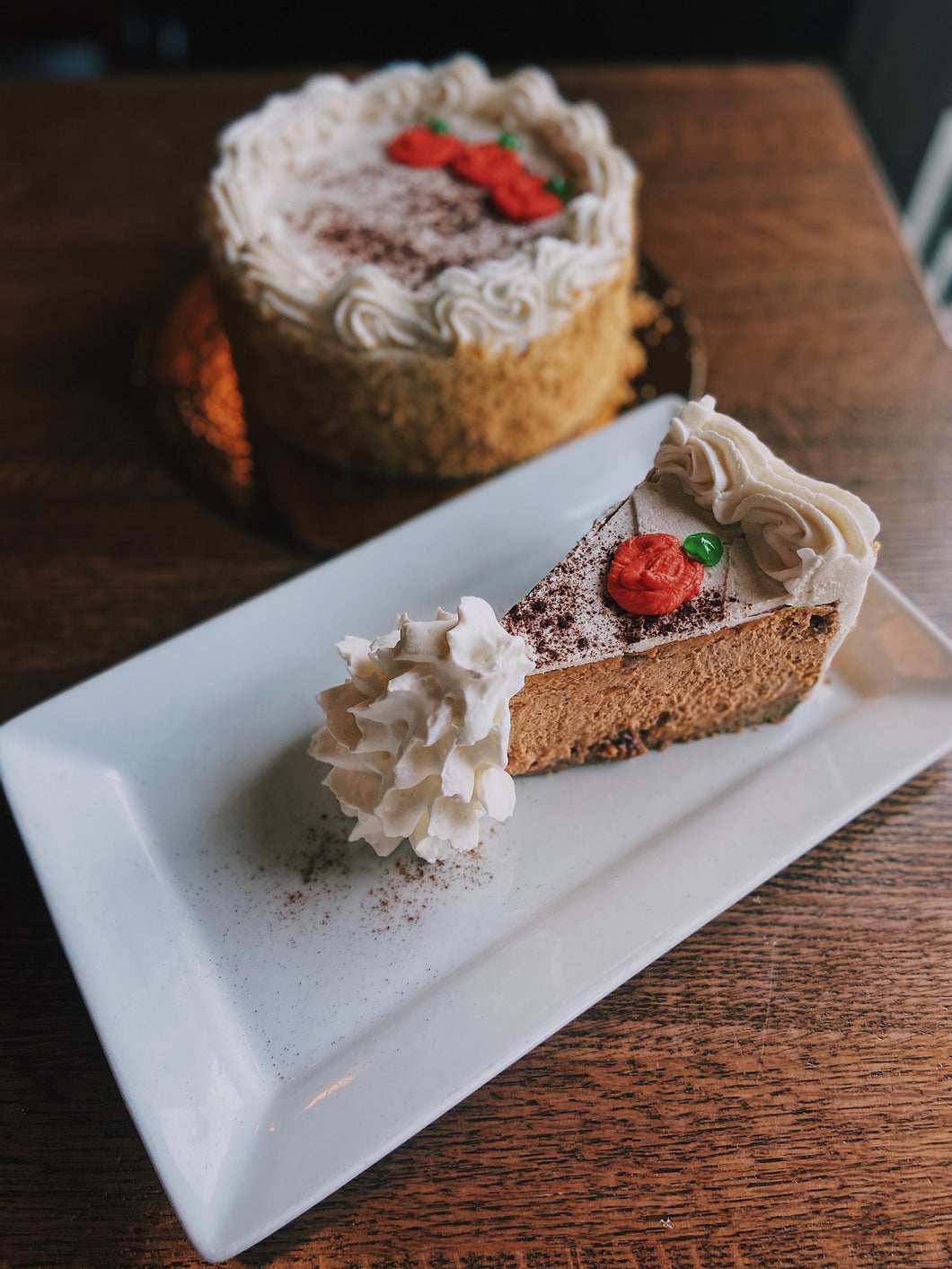 Pumpkin Praline Cheesecake | 10