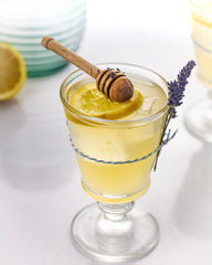 lavender bees knees gin cocktail