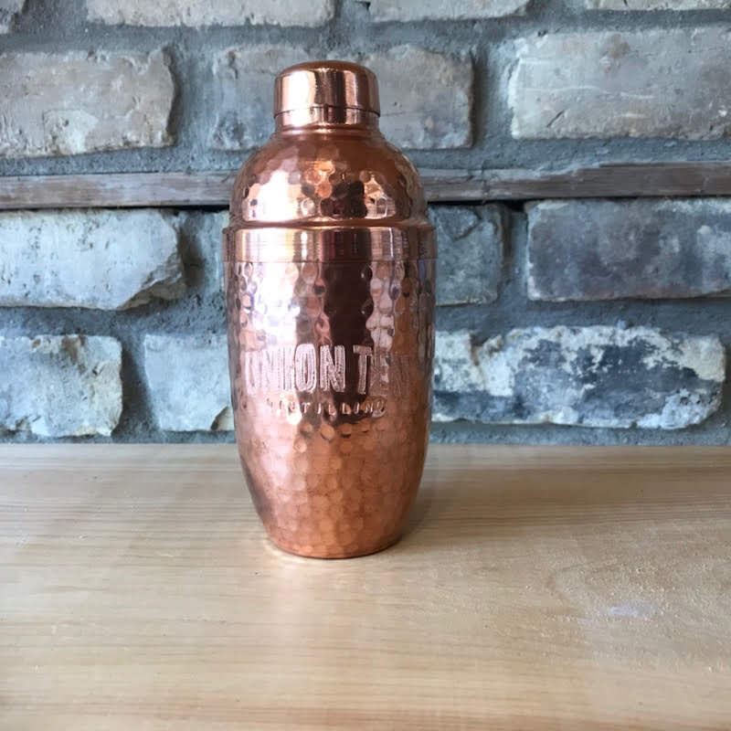 Union Ten Solid Copper Cocktail Shaker
