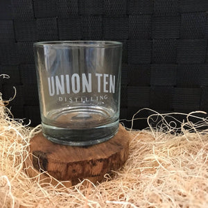 Union Ten Branded Rocks Glass