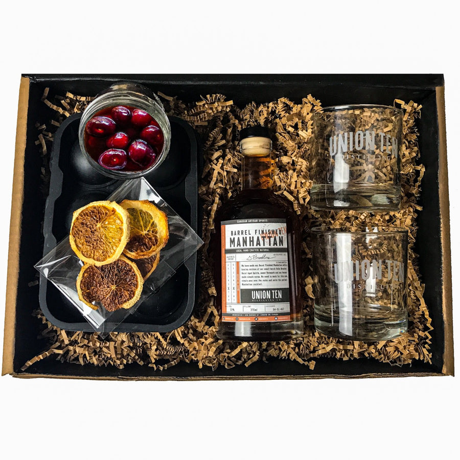 Barrel Finished Manhattan Cocktail Kit