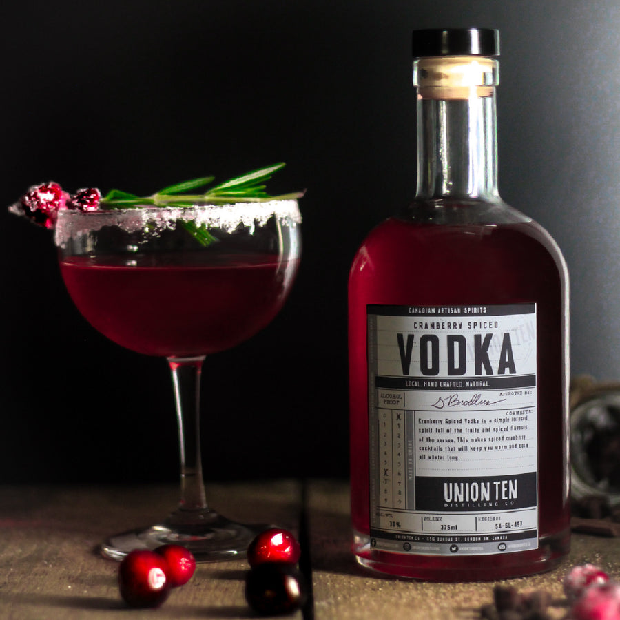 Cranberry Spiced Vodka