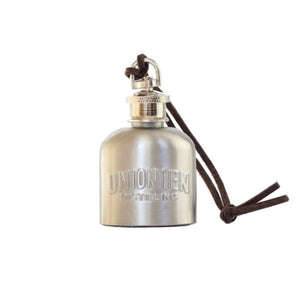 Mini Stainless Steel Embossed Union Ten Flask