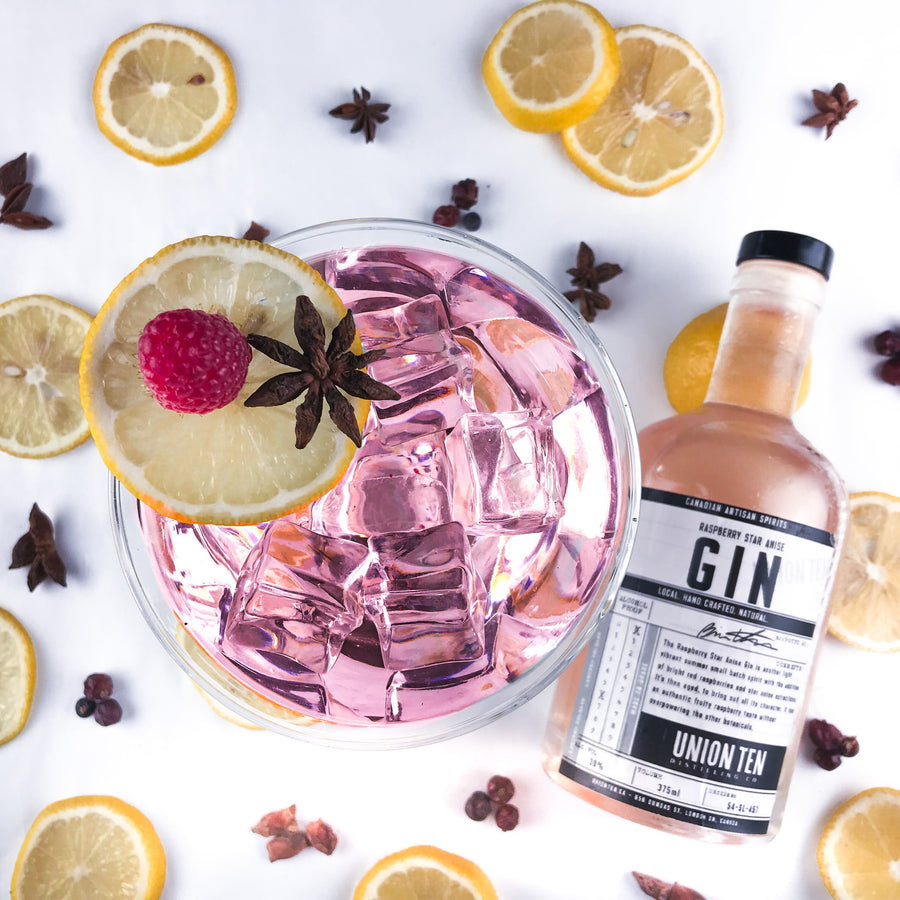 Raspberry Star Anise Gin