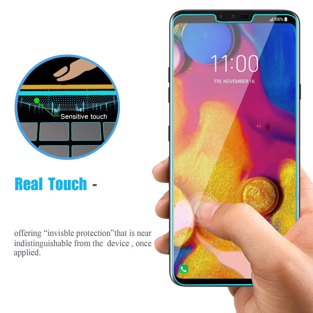 2 Pcs Tempered Glass Screen Protector 2.5D Arc Edges 9 Hardness HD Anti-Scratch For LG Aristo / Aristo 2 / Stylo 2 / Stylo 3 / Stylo 4 / Stylo 5 / K20 Plus /Zone 4 / Q7 /K30 / K40 /