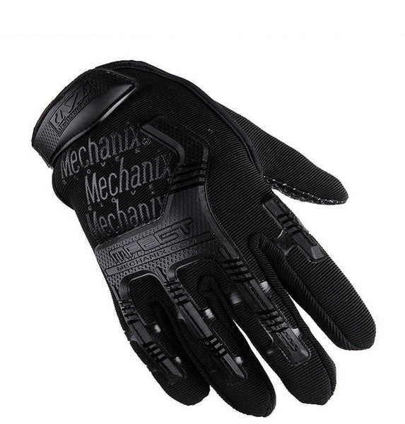 Full Finger Super Wear-resistant Gloves for Men Outdoor Sports Gloves Fighting Training Cycling Specials Forces Non-slip Gloves