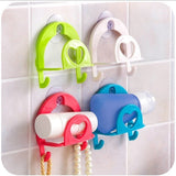 Convenient Sponge Holder Suction Cup Sink Holder Kitchen Tools Gadget Decor Wall Mounted Type Storage Holders Racks