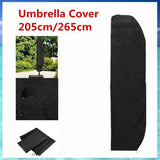 New Parasol Banana Umbrella Cover Cantilever Garden Patio Shield Waterproof Cover(Not inluding Umbrella)