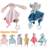 Baby Infant Animal Soothe Appease Towel Soft Plush Comforting Toy Towel Appeasing Towel Soothing Towel Baby Plush Toys