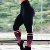 Fashion Super Stretchy Gym Tights Energy Seamless Tummy Control Yoga Pants High Waist Sport Leggings  Running Pants Women