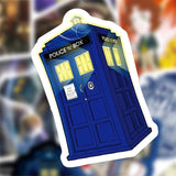 L1432 New Doctor Who TV Cartoon Sticker Waterproof For Laptop Moto Skateboard Luggage Guitar Furnitur Decal Toy Stickers