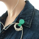 Universal Multifunction Magnet Earphone Cord Winder Wire Cable Organizer Clips Key Holder