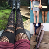 Women's Fashion Lace Mesh Stockings Elastic Fish Net Tights Ladies Fishnet Leggings Sexy Femmes Bas Str¨¹mpfe