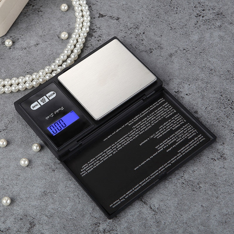 Electronic Digital Pocket Scale 0.1/0.01g Precision Mini Jewelry Weighing Scale Backlight Digital Gram Scale for Kitchen Jewelry
