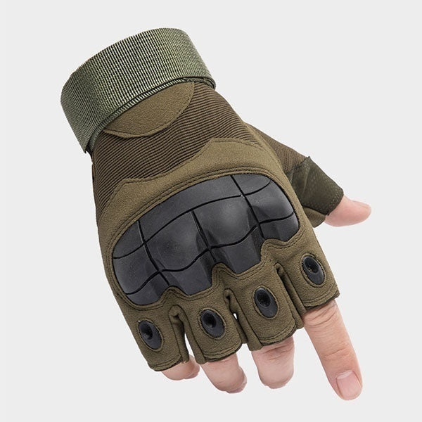 2019 Outdoor Gloves Black Hawk Half Finger Tactical Protection Cycling Sports Training Outdoor Army Fan Commando