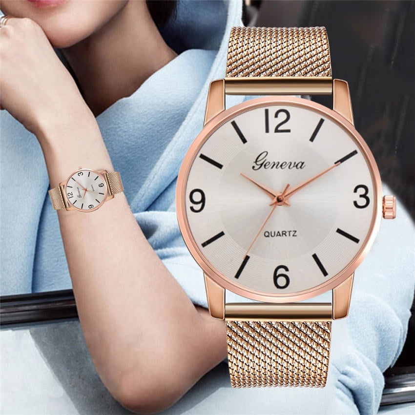 Quartz Watch Women Watches Luxury Wristwatch Female Clock Wrist Watch Lady Watch
