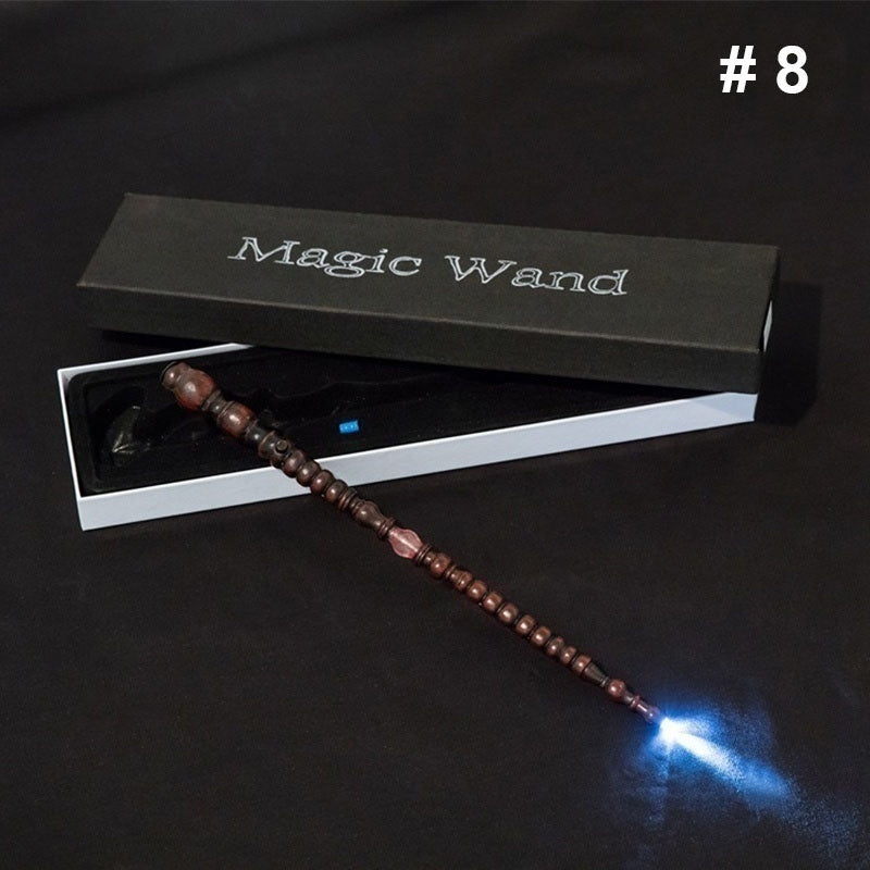 LED Light Illuminating Tip Magical Wands Upgrade HP Series Magic Wand Cosplay Elder Wand (simple Packed Shipping)