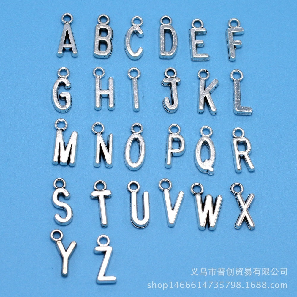 Letter A-Z Key Chain Drive Safe I Need You Here With Me Keychain Jewelry Engraved Bike Star Keyring Llaveros Father's Day Gift